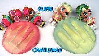 LOL Sürpriz İkizler Renk Değiştiren Slime Challenge  Fail DIY COLOR CHANGING SLİME Bidünya Oyuncak