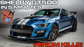 2020 Shelby GT500: Everything you NEED to Know, in 5 Minutes
