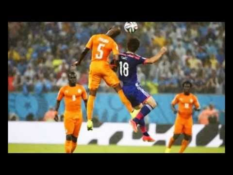 Japan Vs Ivory Coast (1 - 2) World Cup 2014