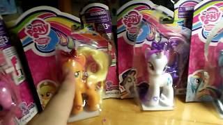 Mở hàng My Little Pony— Rainbow Dash, Fluttershy, AppleJack, Rarity, Pinkie Pie— tặng lego batman !!