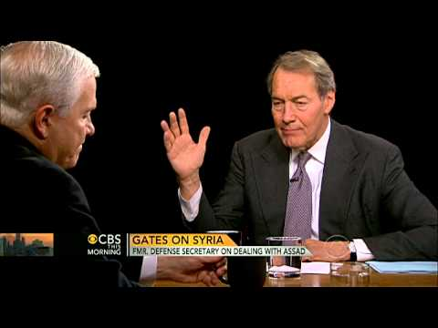 Robert Gates on Syria, Obama's warning