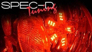 SPECDTUNING INSTALLATION VIDEO: SPIDER LED TAIL LIGHTS SMD BULB