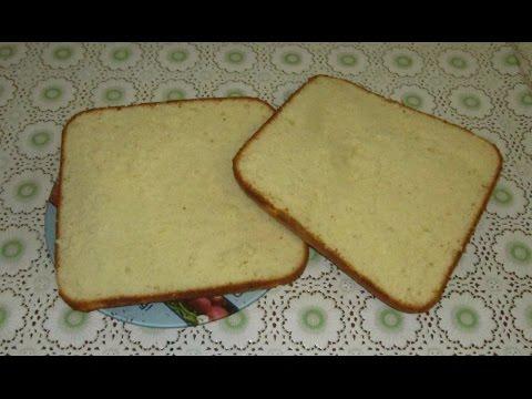 Ванильный бисквит простой рецепт Как приготовить бисквит Vanilla cake