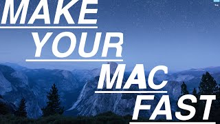 How to make your MAC faster (Deleting Hidden files, Caches, Cookies and Startup items)
