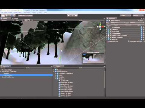 14 Unity: Adding Skyboxes