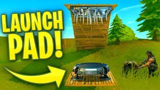 Launching FORTNITE Players INTO SPIKE TRAPS!