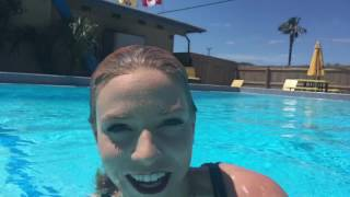 @trinamason April 11 2017  playing with her new underwater equipment after winter
