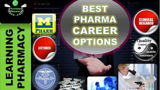 BEST CAREER PROSPECT IN PHARMACY AFTER GRADUATION
