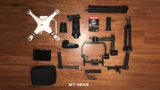 MY TRAVEL FILM-MAKING GEAR | (Music Videos - Travel Film - Short Film - Corporate)