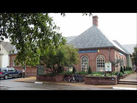 Williamsburg Virginia - HD Video Tour of Old Colonial Williamsburg, USA