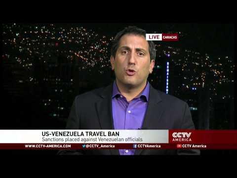 U.S. places travel ban on Venezuelan officials