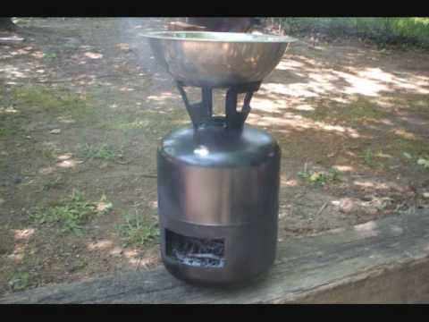 Freon Tank Cook Stove Wmv Youtube