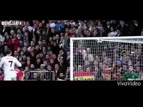 Cristiano Ronaldo  slow motion jump.