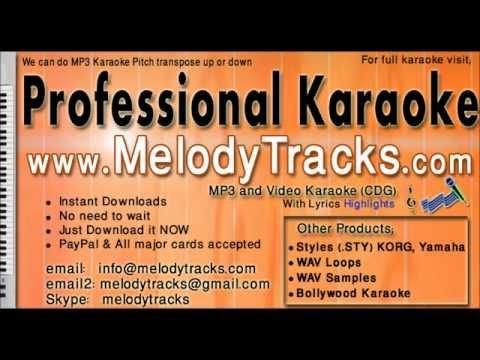 Boondein Nahin Sitare - Rafi KarAoke - www.MelodyTracks.com