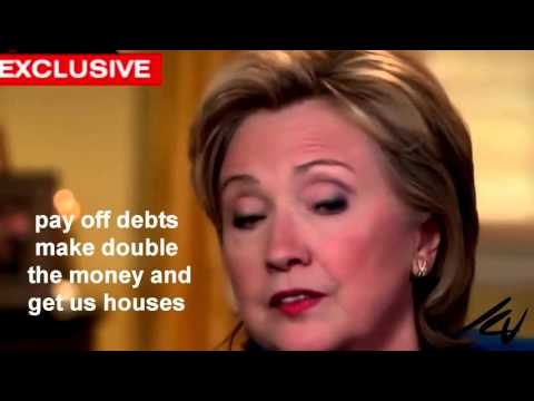 Hillary Clinton left the White House Dead Broke and in Debt - YouTube