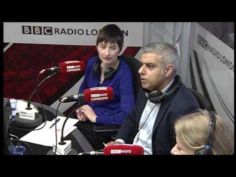 Vanessa Feltz, BBC Radio London Mayoral Debate Video, 8 April 2016
