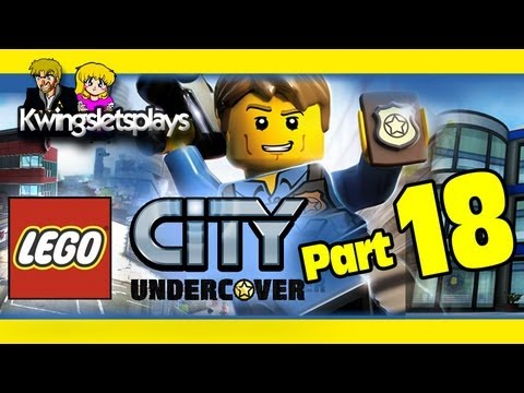 Lego city undercover - Walkthrough Part 18 The Rescue Ah Scrap!