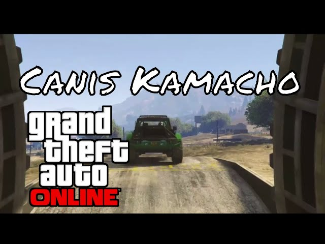 GTA Online Doomsday Vehicles: Canis Kamacho review (sort of)