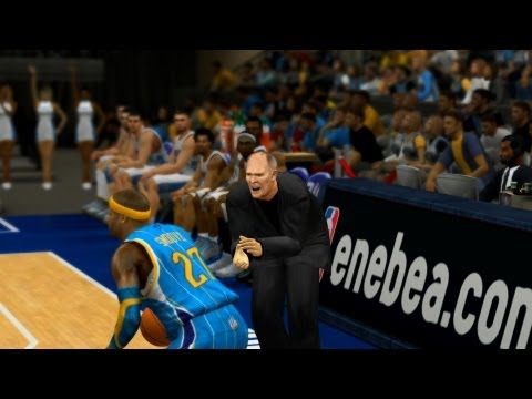 NBA 2K13 My Career - George Karl Tries to Cheese!