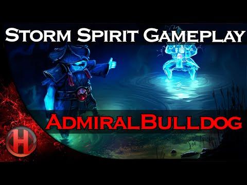 AdmiralBulldog Storm Spirit Gameplay Dota 2
