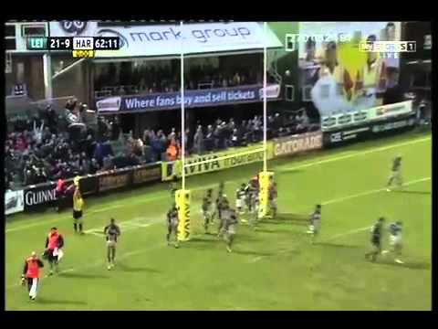 Leicester Tigers 33 Harlequins 16 | Tigers' 2013 Aviva Premiership semi-final tries