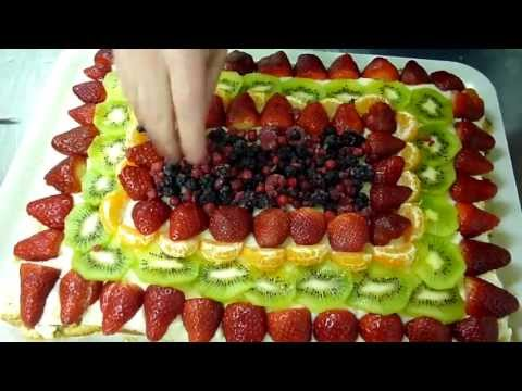 Torta alla Frutta Ricetta Facile e Morbida : Liquore Maraschino – Video
