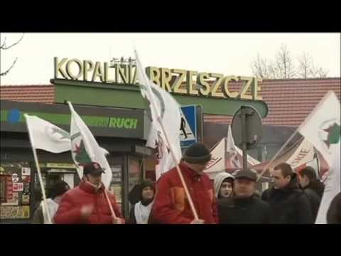 Polish Coal Miner Protests: Anger over government plans to consolidate mining industry