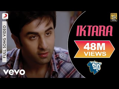 Wake Up Sid -- Iktara Extended Video feat. Ranbir Kapoor