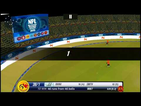 [Android] | Super Cricket 2 | National Premier League 2015 I Pro Mode | Csk V Srh I 4th Match