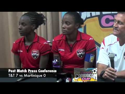 Post Match Press Conference - T&T Women's vs Martinique