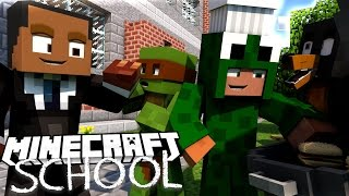 Minecraft School - LITTLE LIZARD CONFESSES HIS LOVE AT THE BBQ!?