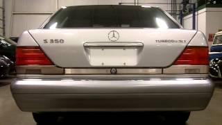 1996 Mercedes-Benz S350 Turbo Diesel Sedan