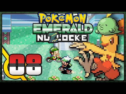 Pokémon Emerald Nuzlocke - Episode 8 | Training Day!