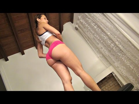 Girls Bubble Butt Building Workout with Dumbbells