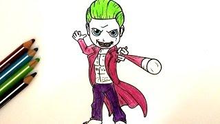 Chadessin - Comment dessiner joker ...