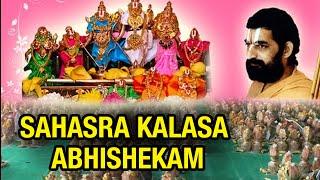 Sri Lord Ramachandra Swami Sahasra Kalasa Abhishekam - Hyderabad on 28th Oct