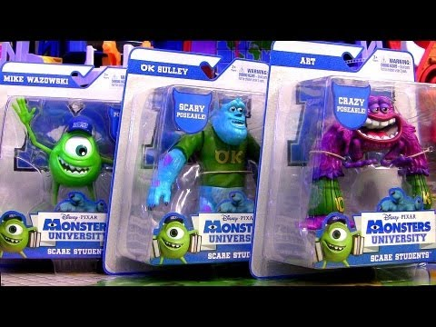 Monsters University Cars Toys + Disney Pixar Trucks Roll-a-scare Ridez Monsters Inc. 2 MU toy