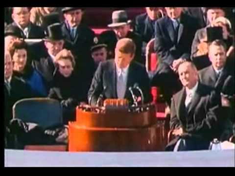 John F. Kennedy Presidential Inaugural Speech (full) video