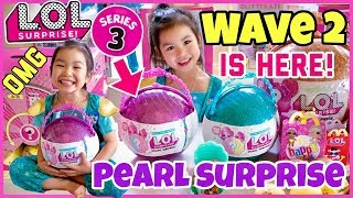 OMG! WE GOT LOL SURPRISE PURPLE PEARL SURPRISE WAVE 2! FULL UNBOXING of Precious and Lil Precious!