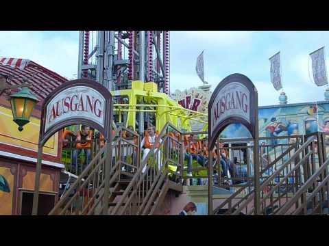Rheinkirmes 2009 (achterbahn - Bangbros) video
