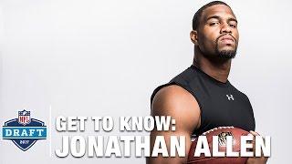 Get to Know: Jonathan Allen (Alabama, DE) | 2017 NFL Draft