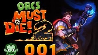 Let's Play Together: ORCS MUST DIE 2 #001 - Donnerbüchse und G-Punkt [deutsch] [720p]
