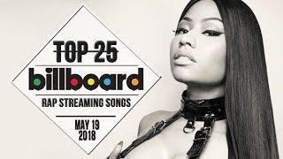 Top 25 • Billboard Rap Songs • May 19, 2018   Streaming-Charts