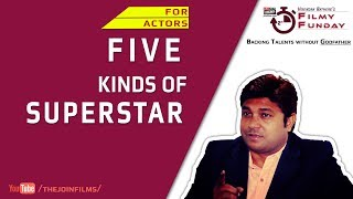 5 Kinds Of Superstar ~  सुपरस्टार के 5 प्रकार | Filmy Funday #41 | Joinfilms