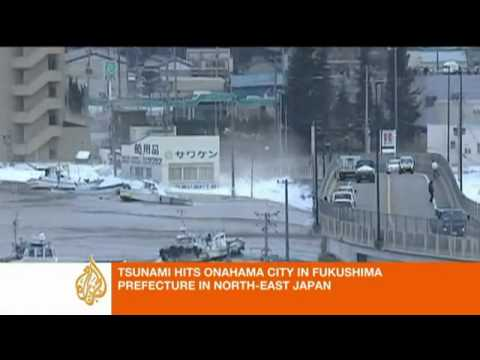 Japan Sunami 8.9 Earth Quakes 2011 video