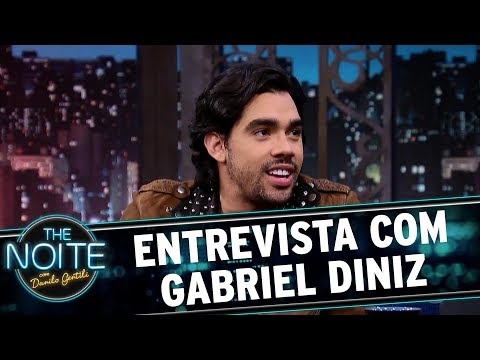 Entrevista com Gabriel Diniz   The Noite 161017