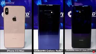 [Camera Test] Huawei Mate 20 & 20 Pro vs iPhone XS Max & Galaxy Note 9!!
