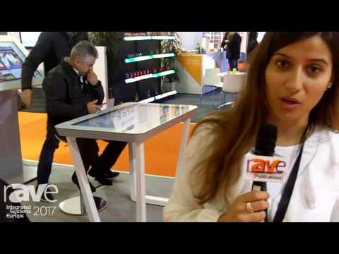 ISE 2017: Famasete Tells Us About Wingsys TA011 Multitouch Display Table