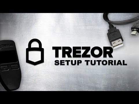 Tutorial | Trezor Cryptocurrency Hardware wallet setup guide for Bitcoin, Ethereum & ERC20 Tokens