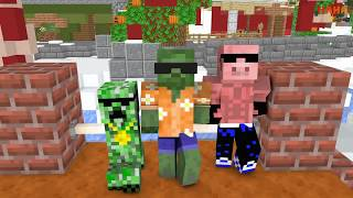 Monster School : (SEASON 3) GIRLS AND BOYS ALL EPISODES - MINECRAFT ANIMATION